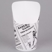 American Metalcraft FFCP6 6 oz. Paper French Fry Cup - 1000/Case