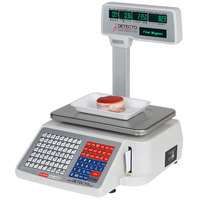 Cardinal Detecto DL1060P 60 lb. Digital Price Computing Scale with Printer and Tower Display, Legal for Trade