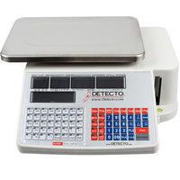 Cardinal Detecto DL1030 30 lb. Digital Price Computing Scale with Printer, Legal for Trade