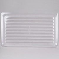 Cambro DT1220CW135 Clear Camwear Polycarbonate Market Tray - 12 inch x 20 inch