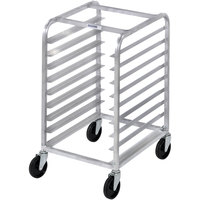 Channel 425S 9 Pan Stainless Steel End Load Half Height Sheet / Bun Pan Rack - Assembled