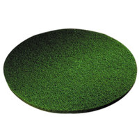 Scrubble by ACS 55-27 Type 55 27 inch Green Scrubbing Floor Pad - 2/Case