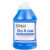 Noble Chemical 1 Gallon Dry It Low Rinse Aid / Drying Agent for Low Temperature Dish Machines - Ecolab® 13720 Alternative - 4/Case