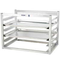 Channel AWM10 10 Pan Side Load Wall Mount Sheet / Bun Pan Rack - Assembled
