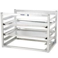 Channel AWM-10 10 Pan Side Load Wall Mount Sheet / Bun Pan Rack - Assembled