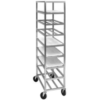 Channel AXDUPR7 Heavy-Duty Universal Aluminum Platter Rack - 7 Shelf
