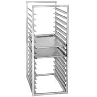 Channel RIR-24 24 Pan Aluminum End Load 20 1/2 inch x 23 inch x 51 inch Sheet / Bun Pan Rack for Reach-Ins - Assembled