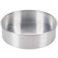 9 inch x 3 inch Aluminum Removable Bottom Cake Pan