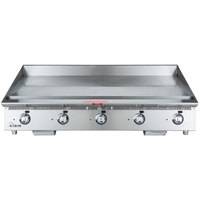 Star 860MA Ultra Max 60 inch Countertop Gas Griddle with Manual Controls - 150,000 BTU