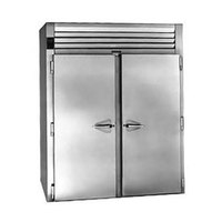 Traulsen RIH232LP-FHS Stainless Steel 80.2 Cu. Ft. Two Section Roll-Thru Heated Holding Cabinet for 66 inch Pan Racks - Specification Line
