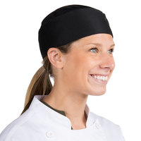 Headsweats 8901-802 COOLCHEF Black Chef Skull Cap