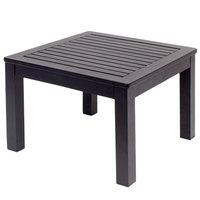 BFM Seating PH6105BL Belmar Black Aluminum End Table