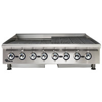 Star 8148RCBA Ultra Max 48 inch Radiant Gas Charbroiler 160,000 BTU