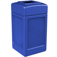 Commercial Zone 732104 PolyTec 42 Gallon Blue Waste Container