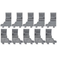 Cambro Camshelving Elements ECC10580 Connector Corner - 10/Pack