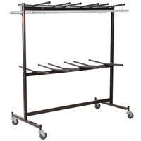 National Public Seating 84-60 Folding Chair / Coat Storage and Transport Dolly