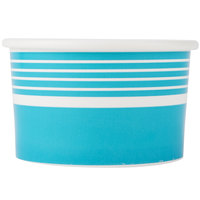 Choice 6 oz. Blue Paper Frozen Yogurt Cup   - 1000/Case
