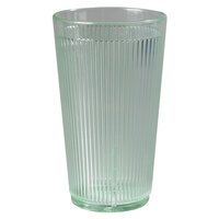 Carlisle 403409 Green Crystalon RimGlow Tumbler 16 oz. - 48 / Case