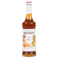 Monin 750 mL Cookie Butter Flavoring Syrup