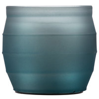 Sterno Products 60204 Origin 3 1/2 inch Blue Flameless Wax Filled Glass Lamp - 4/Case