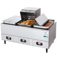 Crown Verity 3WHS Electric Hot Dog Steamer - 240V