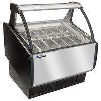 Master-Bilt GEL-9 Gelato Merchandiser / Dipping Cabinet - 66 inch