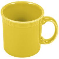 Homer Laughlin 570320 Fiesta Sunflower 12 oz. Java Mug - 12 / Case
