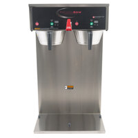 Grindmaster B-DGP PrecisionBrew Digital 2.5 Liter Twin Gravity Container Automatic Coffee Brewer - 120/208/240V