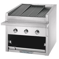 Bakers Pride C-24GS Natural Gas 24 inch Glo Stone Charbroiler - 108,000 BTU