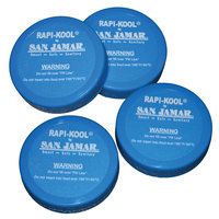 San Jamar RCUCAPPAK Replacement Rapi-Kool Cooling Paddle Cap - 4 / Pack