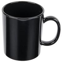 GET TM-1310-BK 8 oz. Black Tritan Plastic Mug   - 24/Case