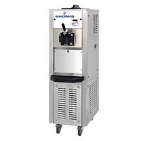 Spaceman 6378 Soft Serve Ice Cream Machine with 2 Hoppers