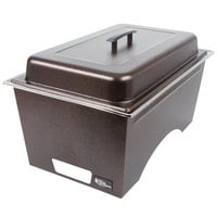 Sterno Products Copper Vein Stackable Chafer with Lid and 2 Half Size Pans