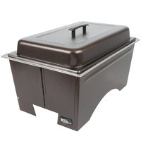 Sterno Products Full Size Copper Vein Knock Down Chafer with Lid