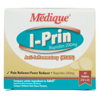 Medique 10064 I-Prin Ibuprofen Tablets - 24 / Box