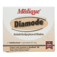 Medique 20069 Diamode Antidiarrheal Caplets - 6/Box