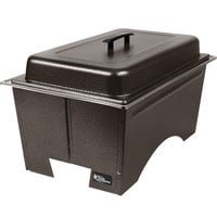 Sterno Products Copper Vein Knock Down Chafer with Lid and 2 Half Size Pans