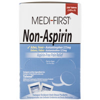 Medi-First 80348 Non-Aspirin Acetaminophen Tablets - 250 / Box