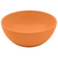 GET SZSB009O BambooServe 20 oz. Round Bamboo Orange Salad Bowl - 24/Case
