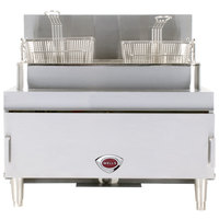 Wells GF-30 Liquid Propane 30 lb. Gas Countertop Fryer - 65,000 BTU
