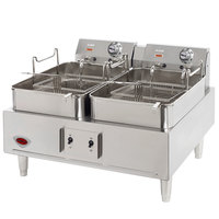 Wells F30 30 lb. Electric Countertop Fryer - 208/240V, 8638/11,500W