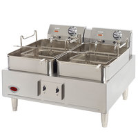 Wells F30 30 lb. Electric Countertop Fryer - 208/240V, 8638/11,500W