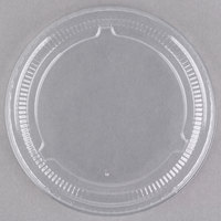 Choice PET Plastic Lid for 3.25 oz, 4 oz, and 5.5 oz. Souffle and Portion Cups   - 125/Pack