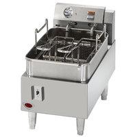 Wells F15 15 lb. Electric Countertop Fryer - 208/240V, 4319/5750W