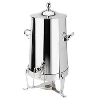 Eastern Tabletop 3013 Park Avenue 3 Gallon Stainless Steel Insulated Coffee Urn with Hands-Free Spigot