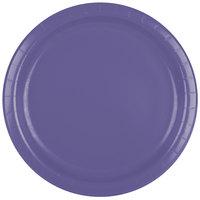 Creative Converting 47115B 9 inch Purple Paper Plate - 24/Pack