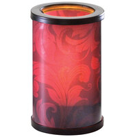 Sterno Products 80448 Muse 5 inch Paisley Red Lamp