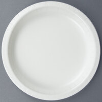 Creative Converting 79000B 7 inch White Paper Plate - 24/Pack