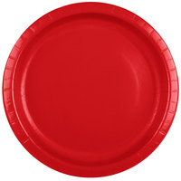 Creative Converting 501031B 10 inch Classic Red Paper Plate - 24/Pack