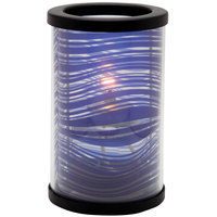 Sterno Products 80466 Muse 5 inch Wave Purple Lamp